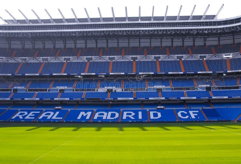 stade de Santiago de bernabeu image stock