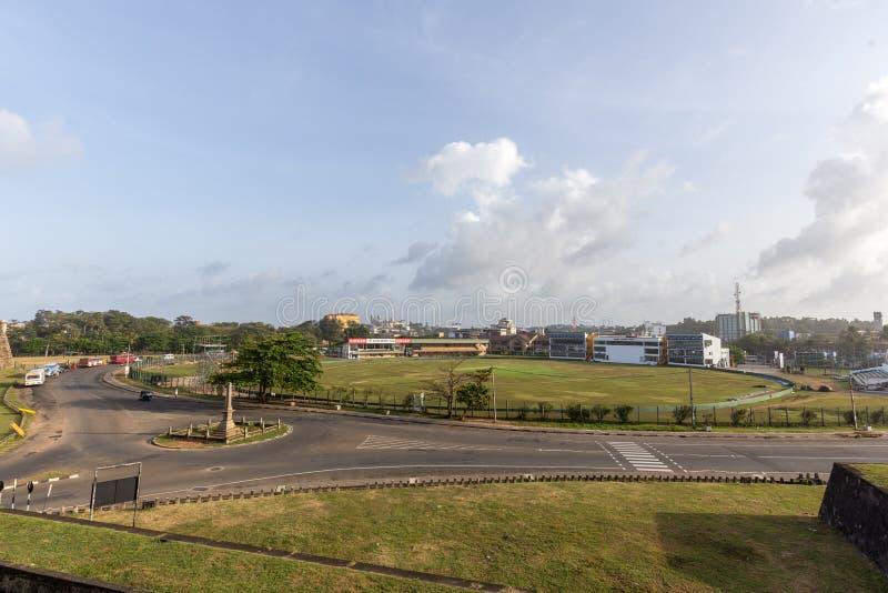 Stade international de cricket de Galle photographie stock libre de droits