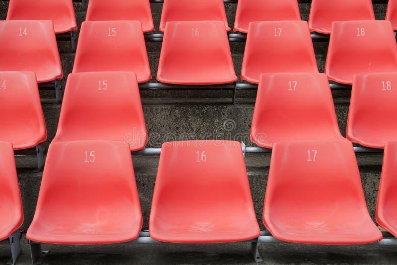 stade manquant de siège image stock