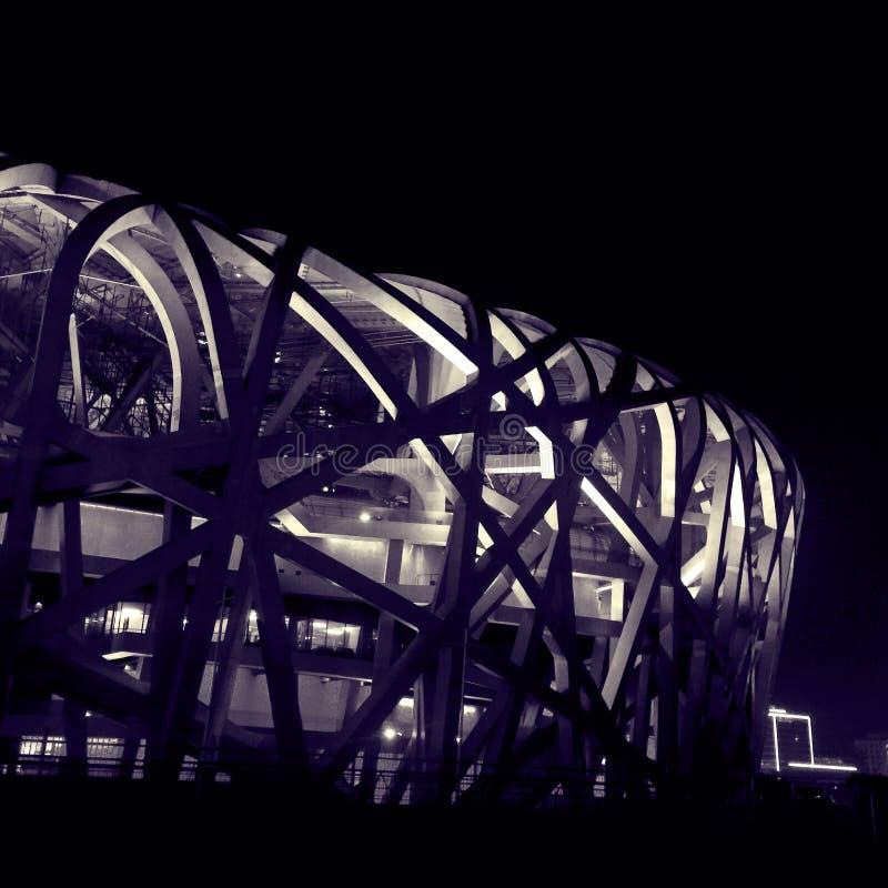 Stade national photo libre de droits