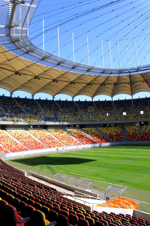 Stade national d'arène image libre de droits