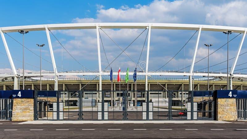 Stade national silésien images libres de droits
