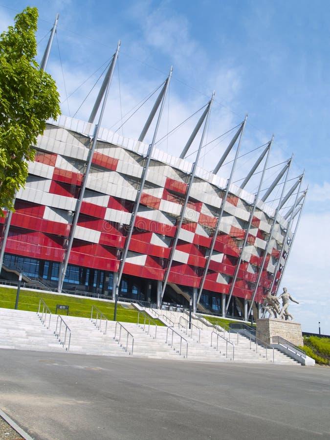 Stade national, Varsovie, Pologne photographie stock libre de droits