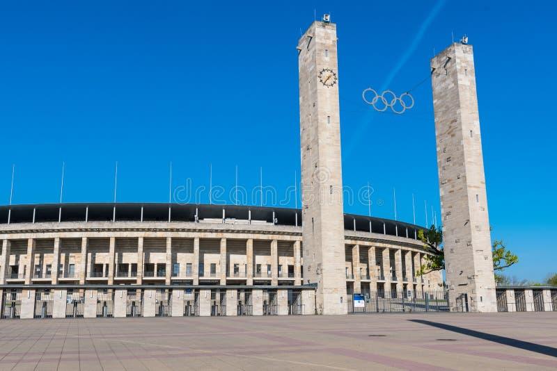 Stade olympique de Berlin image libre de droits
