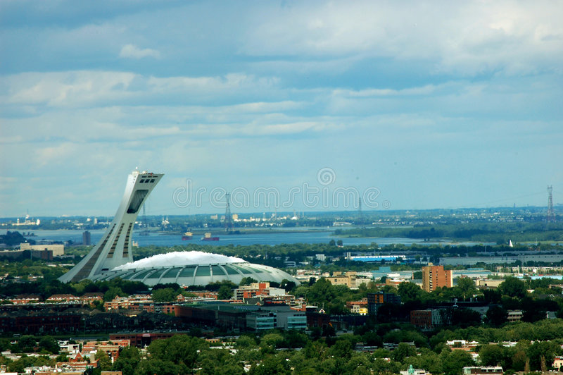 Stade Olympique Montreal Royalty Free Stock Photo