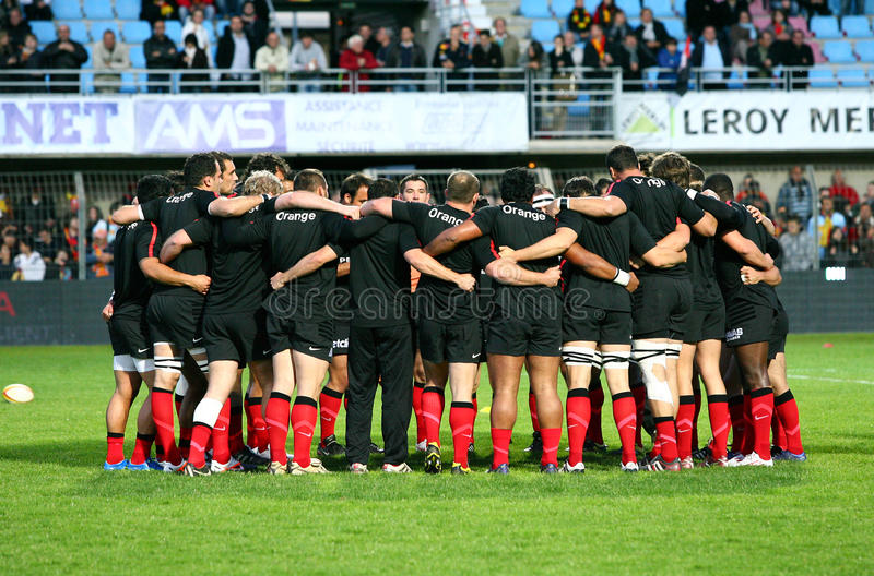 Download Stade Toulousain's Team Illustration Editorial Stock Photo - Image: 24476813