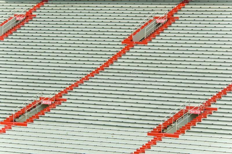 Stade vide de sports photo libre de droits