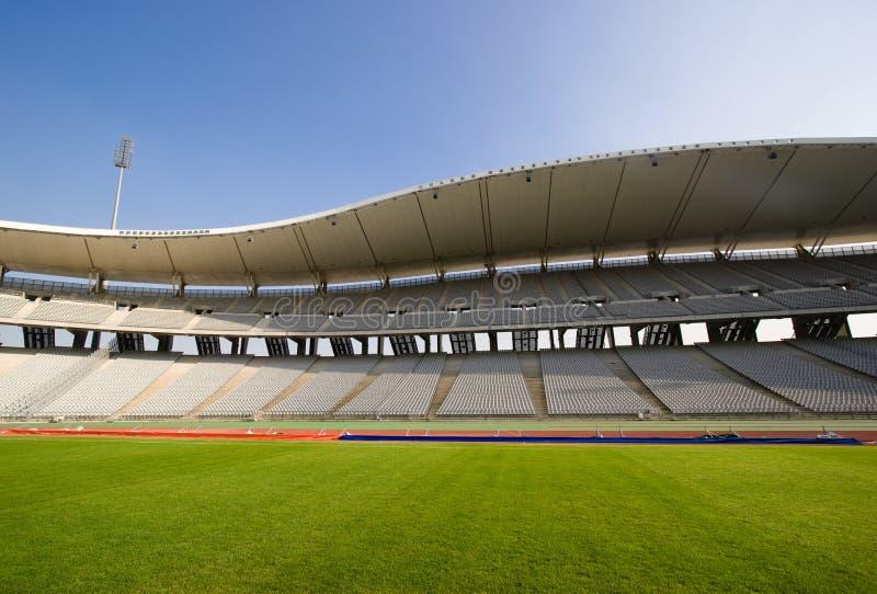 Stade vide et la zone photo stock