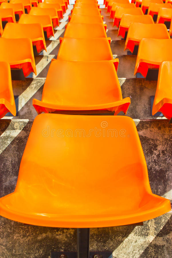 Stade vide Seat. images stock