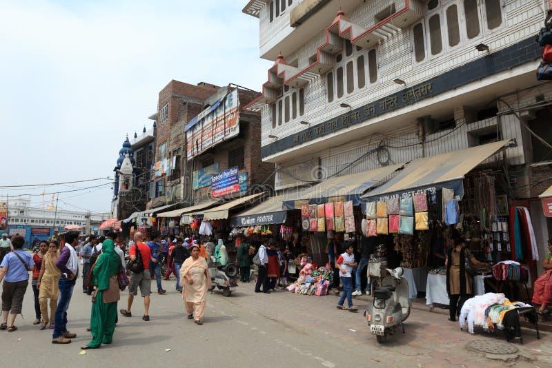 Staden av Amritsar royaltyfri fotografi