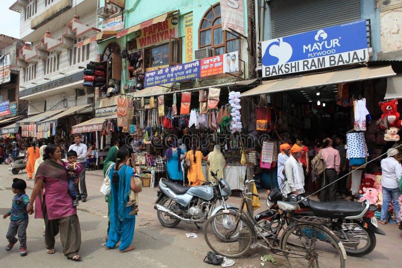 Staden av Amritsar royaltyfri foto