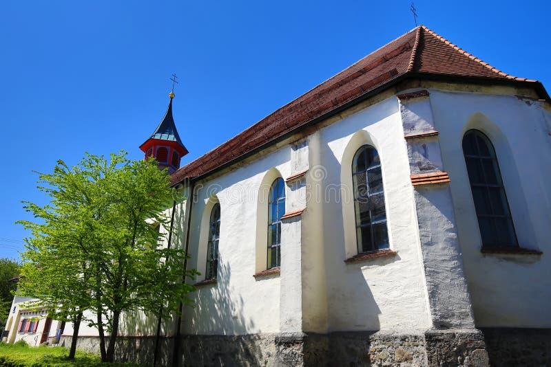 Staden av d?liga Waldsee arkivfoto