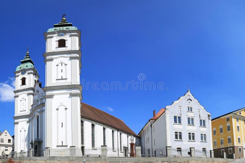 Staden av d?liga Waldsee fotografering för bildbyråer