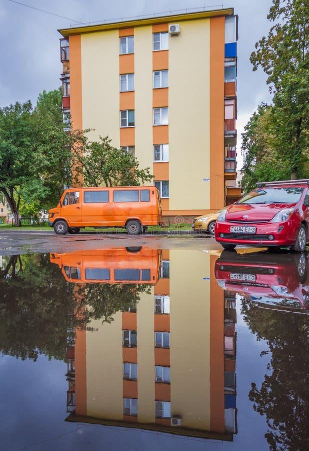 Staden av Gomel, Vitryssland royaltyfri foto