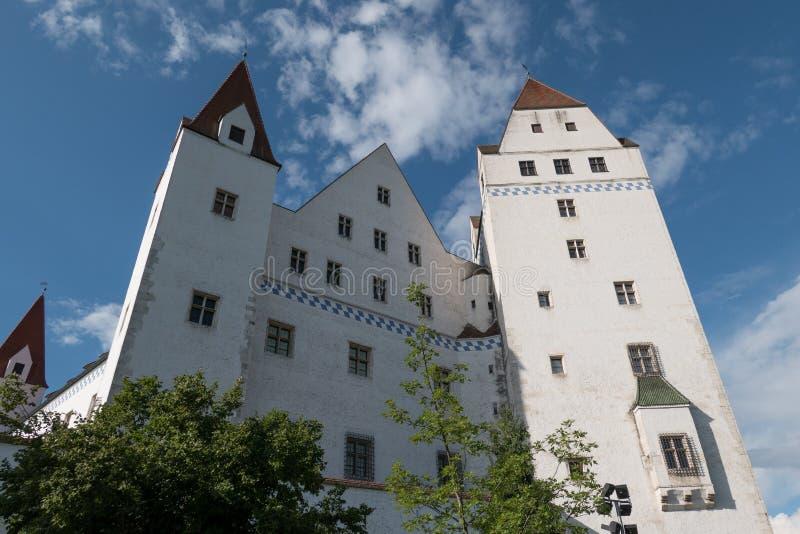 Staden av ingolstadt i Tyskland royaltyfria bilder