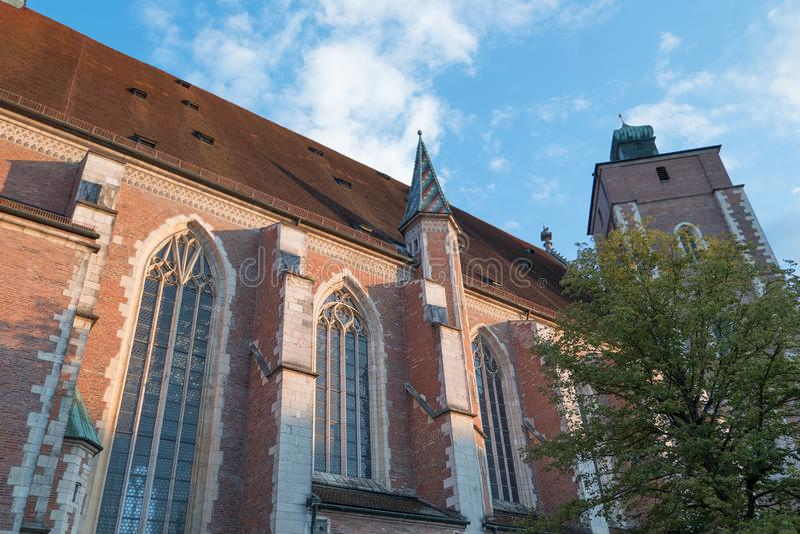 Staden av ingolstadt i Tyskland royaltyfri bild