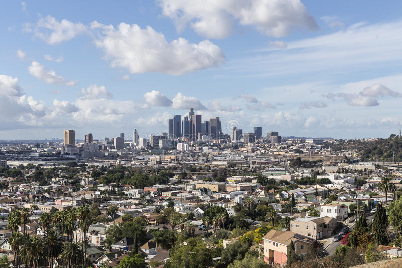Staden av Los Angeles arkivbilder