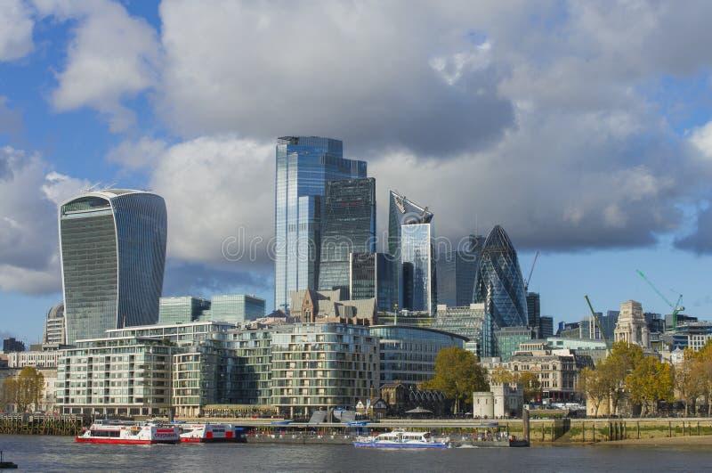 Staden, London royaltyfri foto