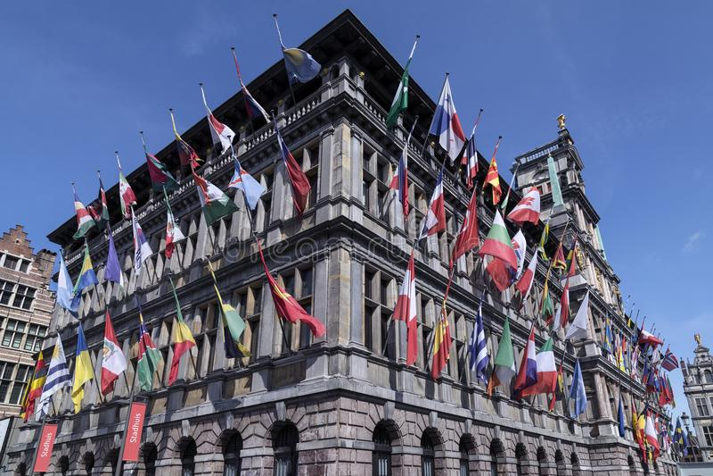 The Stadhuis - Antwerp - Belgium royalty free stock photos