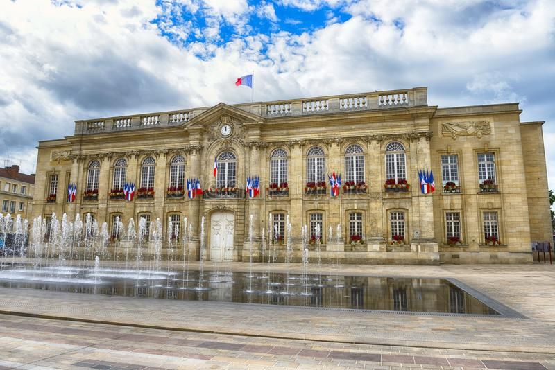 Stadhuis in Beauvais stock fotografie