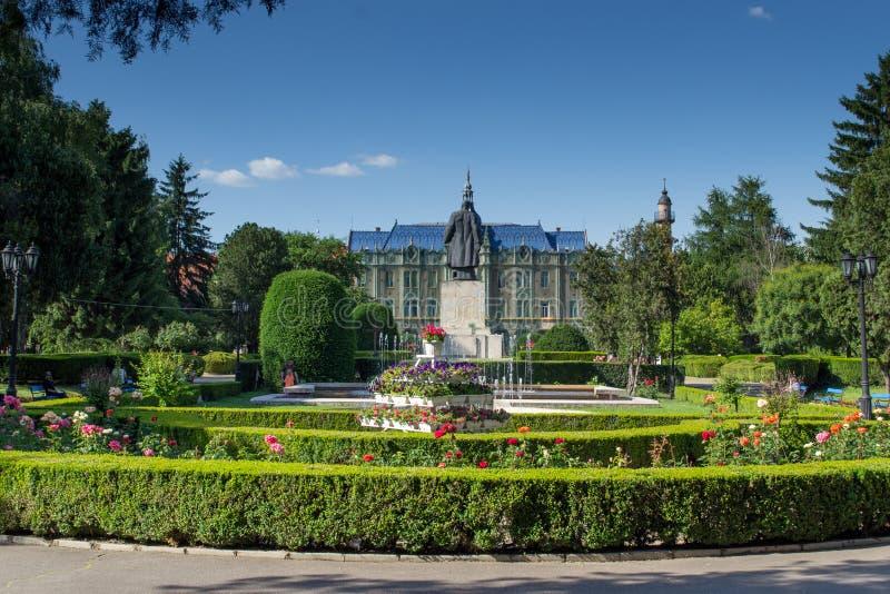 Stadhuis centraal park royalty-vrije stock afbeelding