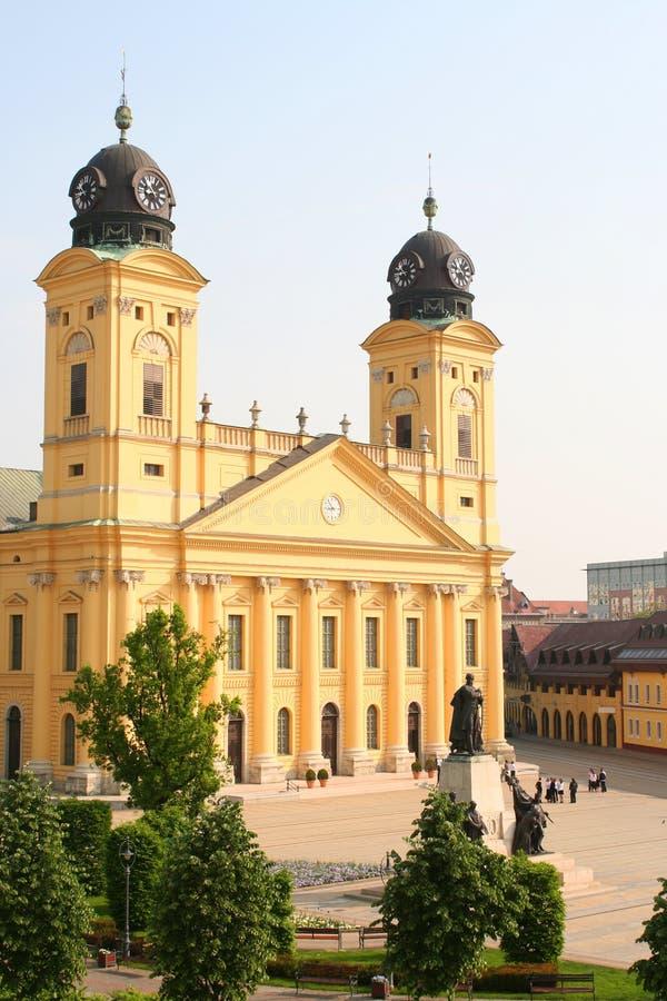 Stadhuis. Columned bouw royalty-vrije stock foto
