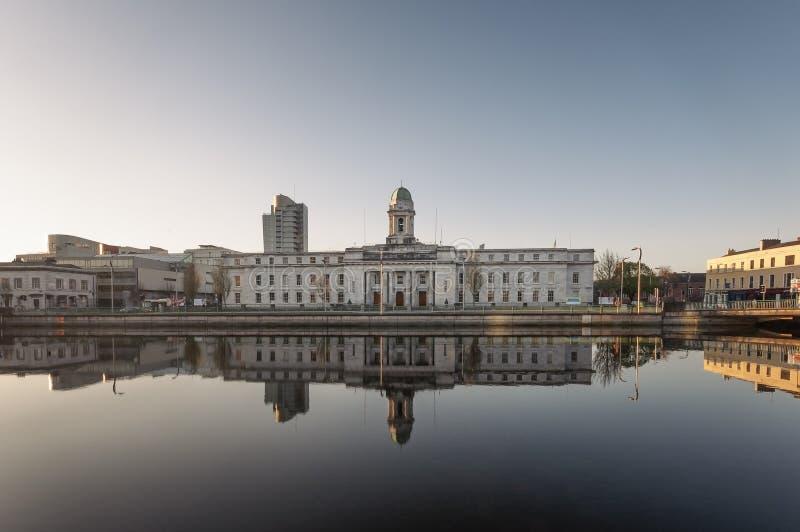 Stadhuis, Cork, Ierland stock afbeeldingen