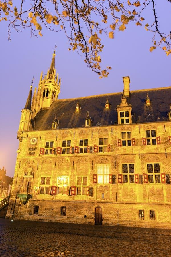 Stadhuis in Gouda stock fotografie