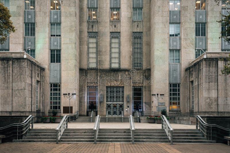 Stadhuis, in Houston van de binnenstad, Texas royalty-vrije stock foto's