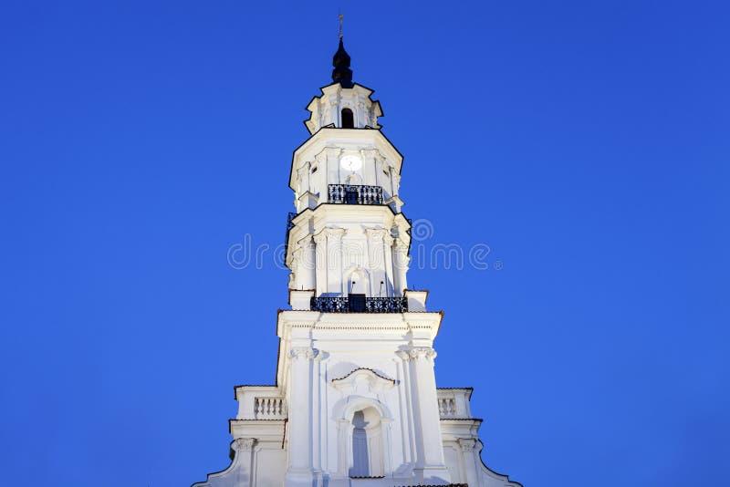 Stadhuis, Kaunas royalty-vrije stock afbeeldingen