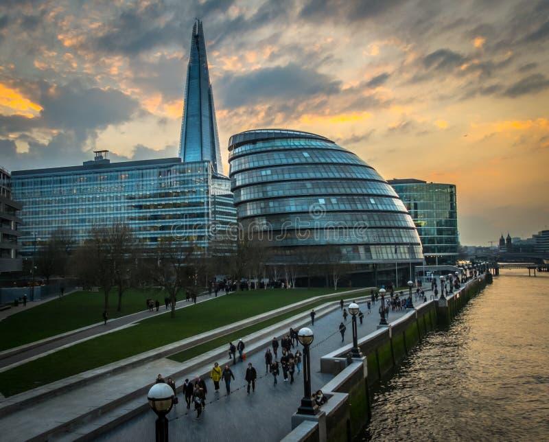 Stadhuis, Londen stock afbeeldingen