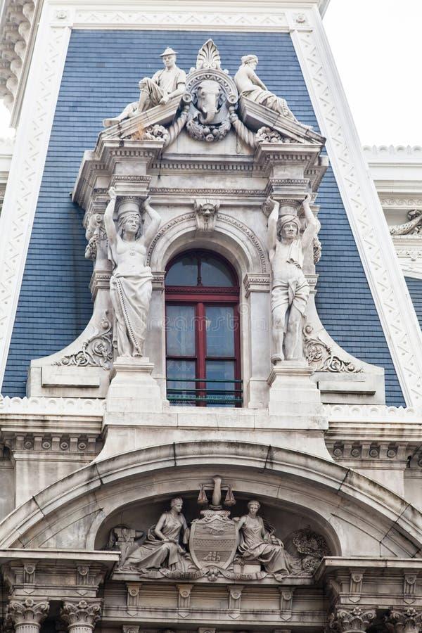 Stadhuis Philadelphia royalty-vrije stock afbeelding