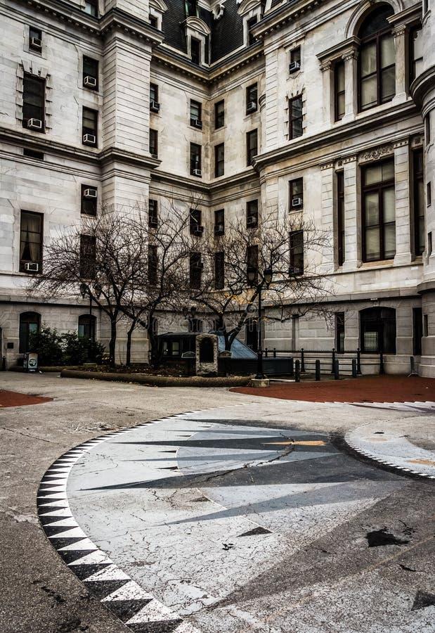 Stadhuis, in Philadelphia van de binnenstad, Pennsylvania royalty-vrije stock foto's