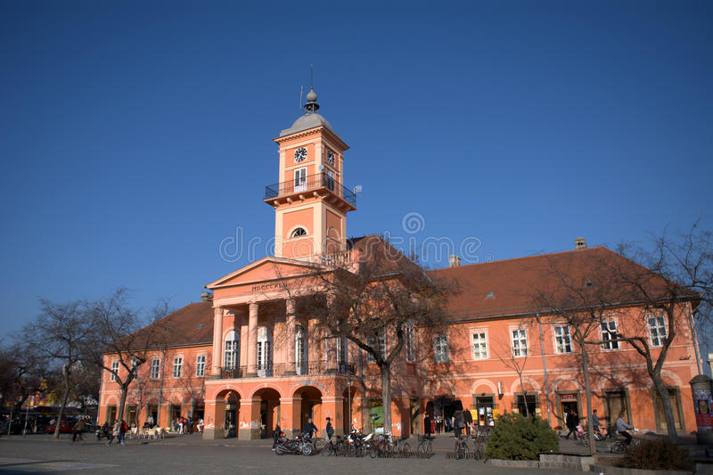 Stadhuis, Sombor, Servië royalty-vrije stock fotografie