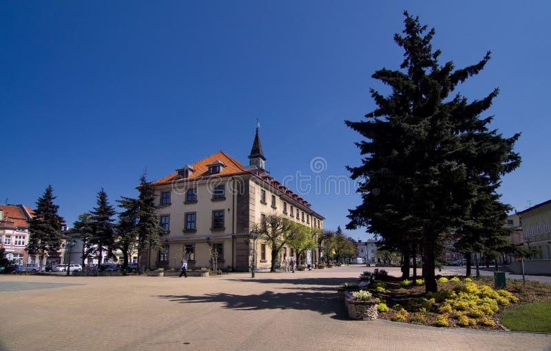 Stadhuis in Swarzedz royalty-vrije stock afbeeldingen