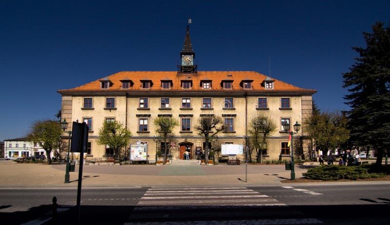 Stadhuis in Swarzedz stock foto