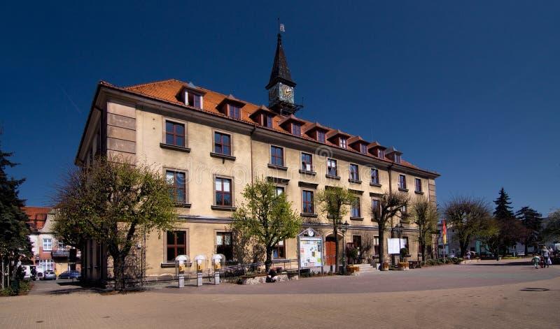 Stadhuis in Swarzedz royalty-vrije stock afbeelding