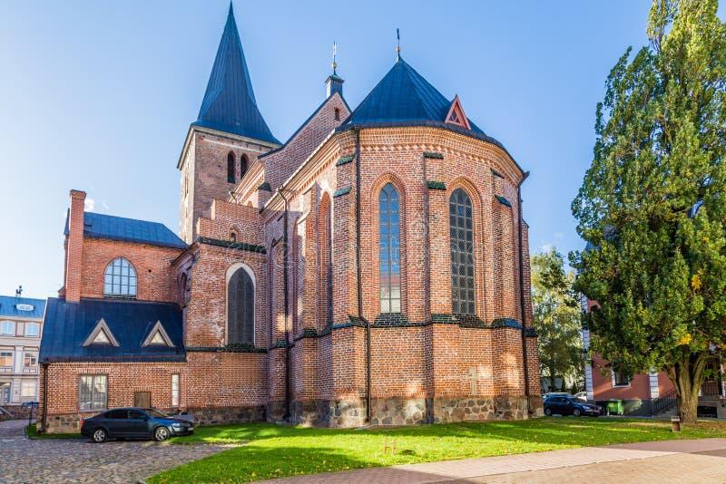 Stadhuis Tartu Estland stock foto