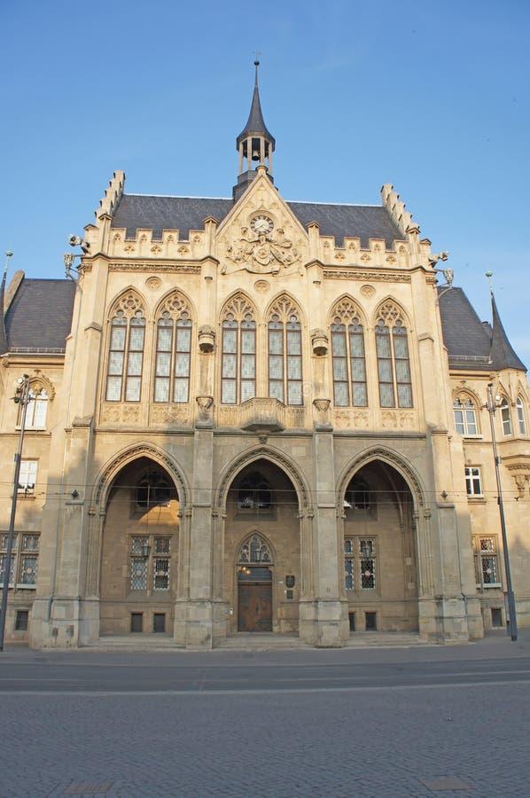 Stadhuis in Thuringia stock foto
