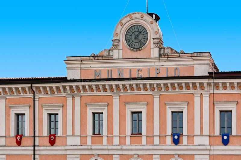 Stadhuis van Campobasso royalty-vrije stock fotografie