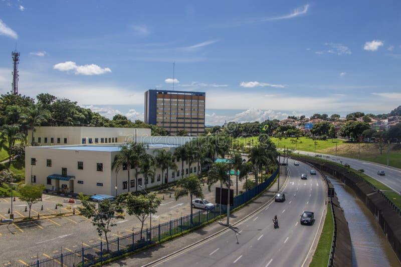 Stadhuis van Dos van Saojose Campos - Brazilië royalty-vrije stock afbeelding