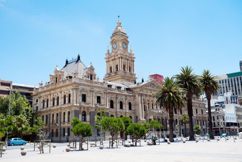 Stadhuis van Kaapstad stock afbeelding