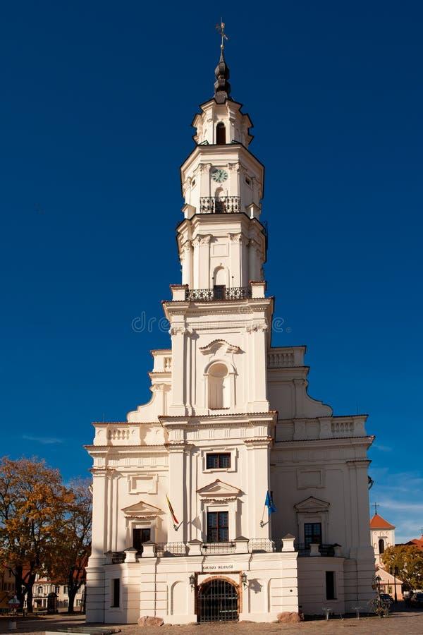 Stadhuis van Kaunas royalty-vrije stock foto