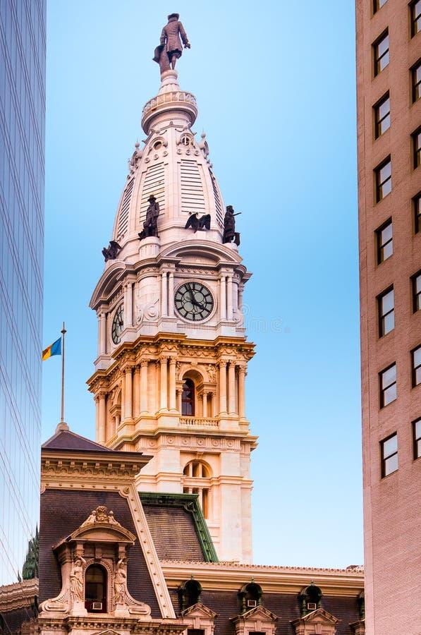 Stadhuis van Philadelphia stock afbeeldingen