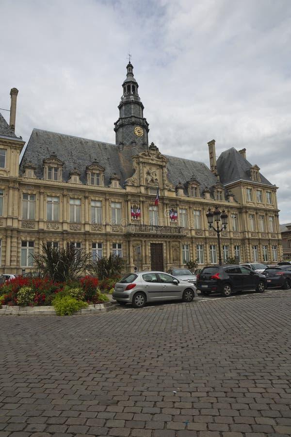 Stadhuis van Reims royalty-vrije stock afbeeldingen