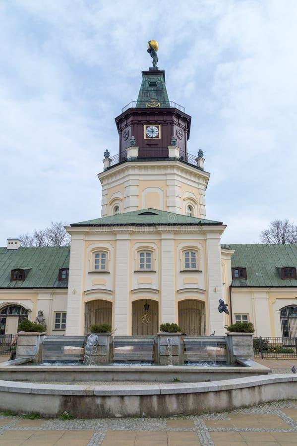 Stadhuis van Siedlce-stad in Polen royalty-vrije stock fotografie