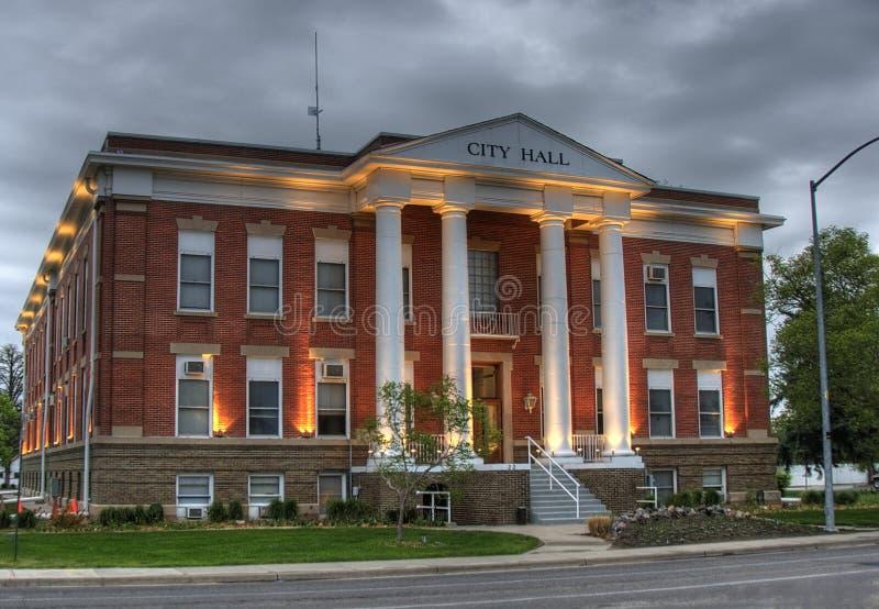 Stadhuis - Voorzijde royalty-vrije stock foto