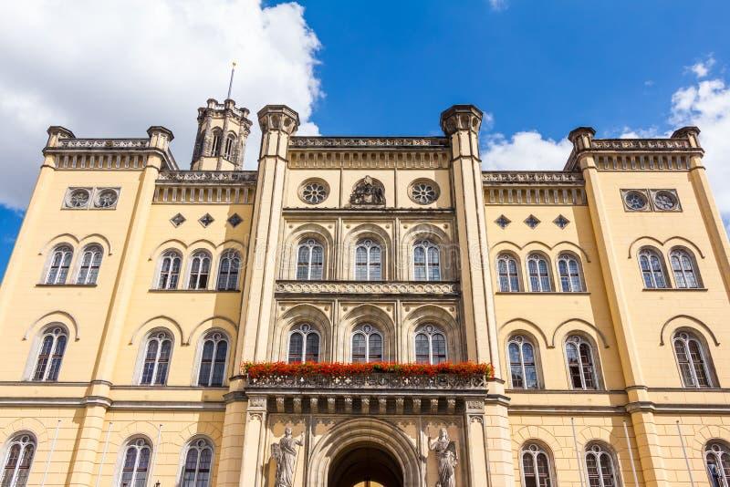 Stadhuis in Zittau royalty-vrije stock afbeelding