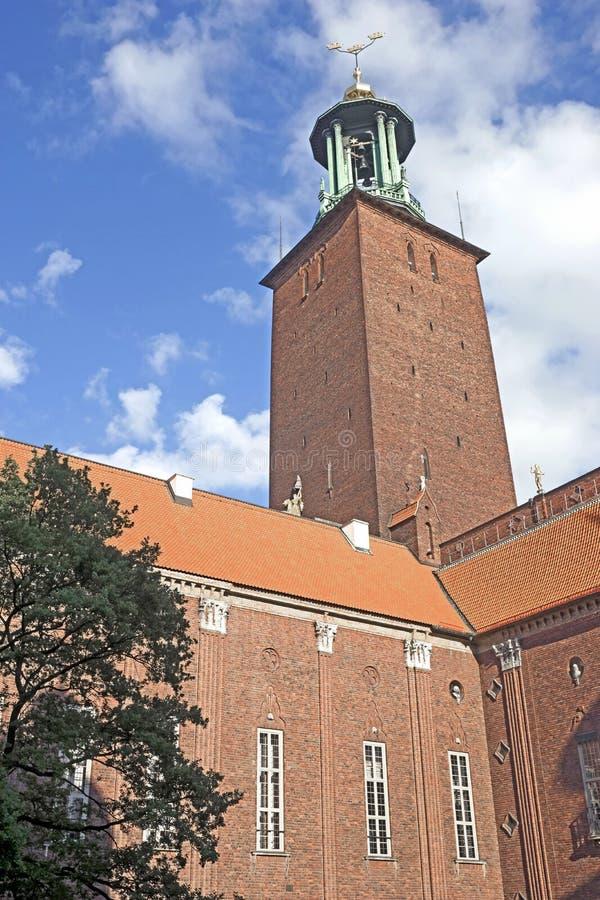 Stadhuistoren 2 royalty-vrije stock fotografie