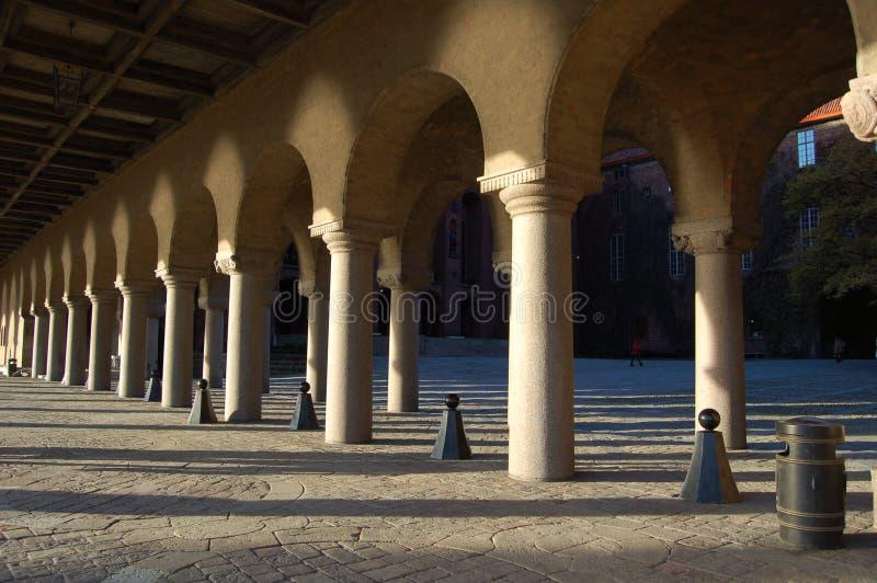 Stadhuset Stockholm lizenzfreies stockbild